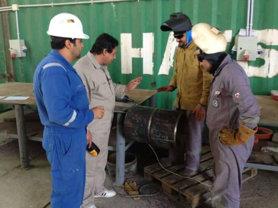 Welder Training and Qualification Test